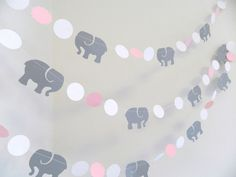 Pink Gray Elephant baby shower Decorations Gray Elephant Nursery - http://www.babyshower-decorations.com/pink-gray-elephant-baby-shower-decorations-gray-elephant-nursery/