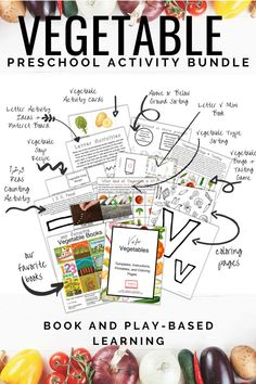 V is for Vegetables Preschool Activity. This fun activity bundle is full of fun, engaging, book-based activities for you and your preschooler to do together. Repin and check out the blog post for free downloads and links to preschool resources including letter v coloring pages, vegetable-themed activities, coloring pages, and a letter v mini book! #readingtodiscover #letterv #visforvegetable #vegetables #preschoolactivities #freebie #freecoloringpages #freeprintables #preschoolathome Preschool At Home, Preschool Science, Preschool Lessons, Preschool Activities, Sight Word Worksheets, Printable Worksheets, Counting Activities, Alphabet Activities, Receptive Language