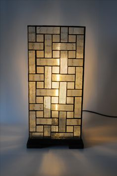 Stained glass lamp tiffany