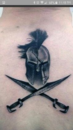 SpartanYou can find Military tattoos and more on our website. Maori Tattoos, Skull Tattoos, Body Art Tattoos, Sleeve Tattoos, Cool Tattoos, Gladiator Tattoo, Knight Tattoo, Armor Tattoo, Future Tattoos