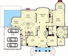 Plan 12186JL: Six Sided Sitting Room