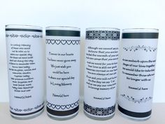 Wedding Memorial Candle holderWedding Candle Personalized
