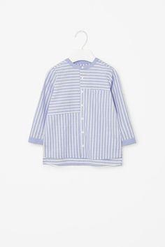 COS   Contrast striped shirt