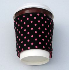 Coffee cup Cozy/sleeve by Sewinggranny by sewinggranny on Etsy, $6.00