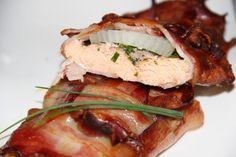Godt og Sunt: Laks innbakt i bacon