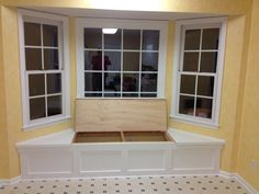 Build a Window Seat with Storage More