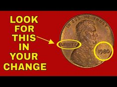We talk about error pennies in your change - 1980 penny you should know about. They are very valuable and we will tell you what you need to look for. Valuable Wheat Pennies, Valuable Coins, Rare Pennies, Rare Coins Worth Money, Coin Worth, Error Coins, Show Me The Money, Old Coins, Stamp Collecting