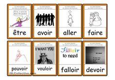 Cartes de 40 verbes irréguliers