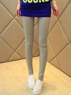 36f33e72b Fashion Style Slim All-match Candy Color Pencil Leggings. Korean Clothes ·  Wholesale Cheap Korean Women Leggings