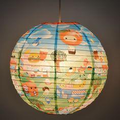 """Happy Town"" Paper Lantern    (http://www.blueq.com/shop/item/229-productId.125846527_229-catId.117440758.html) ($10)"