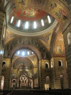 St Louis basilica- this is where i had a gregorian chant workshop, it was fantastic