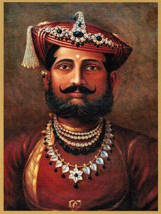 Maharajadhiraj Raj Rajeshwar Sawai Shrimant Yashwant Rao Holkar (Marathi: यशवंतराव होळकर) Bahadur, was one of the Maharaja from Marat. Ancient Indian History, History Of India, Shivaji Maharaj Hd Wallpaper, Queen Drawing, Royal Indian, Great Warriors, Vogue, Freedom Fighters, Royal Jewels