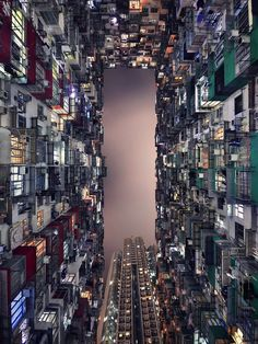 Hong Kong's architectural race to the sky is captured ...