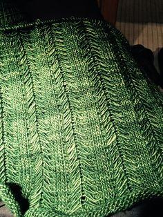 Yasmin Scharf knitted in Madelinetosh light