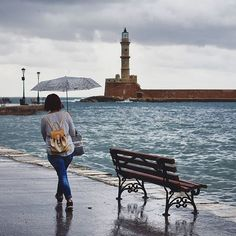Rainy Chania is still beautiful... #chania #crete island #greece