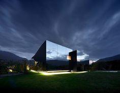 Зеркальные дома архитектора Питера Пихлер