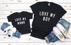 Dad And Son Shirts, Mom Shirts, Kids Shirts, Funny Shirts, Matching Shirts, Matching Outfits, Mom And Son Outfits, Family Outfits, Baby Outfits