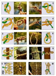 How To: Tie the 10 most useful knots
