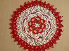 Handmade doilies (16 inch) (41cm) by Ela Mazek