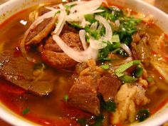 Bún Bò Huế (Beef Vermicelli Soup) | Community Post: 20 Vietnamese Foods You Really Should Be Trying