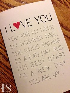 Looking For A Modern Clean Valentines Card Your Husband Let Him Know What The Word Means To You With This Simplistic There Is Room