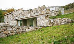 Portuguese stone ruins rise anew as a minimalist dream home