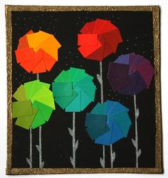 paint chip pinwheels #pinwheels #paintchips
