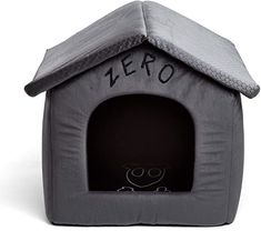 Disney Nightmare Before Christmas Zero Portable Pet House Dog Bed / Cat Bed with Detachable Top, Embroidery, Machine Washable, Dirt/Water Resistant Bottom (Available in two sizes) ** Visit the image link more details. (This is an affiliate link) Dog Houses, House Dog, Dog Cots, Dog Supplies Online, Pet Supplies, Large Dog Crate, Pet Mat, Animal Pillows, Christmas Dog