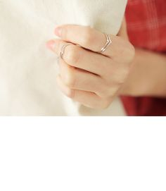 Twins Silver Ring $9.80
