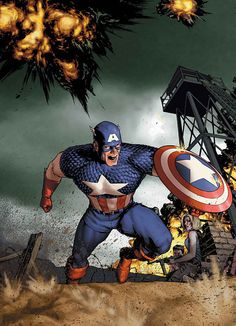 Captain America by Gene Ha.