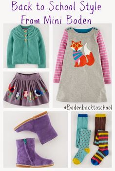 Back to School Style Picks for Girls from Boden #Bodenbacktoschool