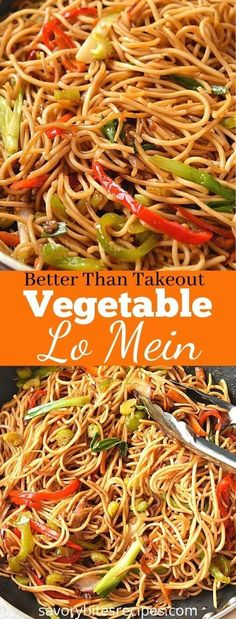 Chinese Food Menu, Chinese Noodle Recipes, Chinese Chow Mein Noodles Recipe, Recipe For Lo Mein Noodles, Healthy Chinese Food, Easy Noodle Recipes, Homemade Chinese Food, Cooking Chinese Food, Egg Roll Recipes