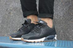 Nike WMNS Air Max 90 PRM Safari Black/Black-White - 443817-006