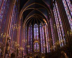 Stunning - Sainte Chapelle lies at the very heart of Paris, on the Ile de la Cite along the River Seine.