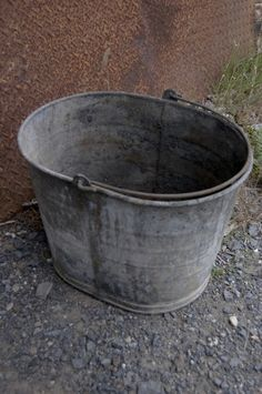 metal bucket | Tumblr