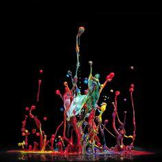 Incríveis fotografias de alta velocidade feitas com música 10