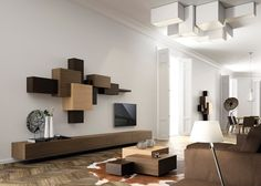 20 Most Amazing Living Room Wall Units | Modern, Walls And Family Office