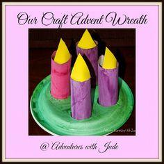 A Craft #Advent #Wreath