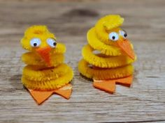 Pipe cleaner chicks