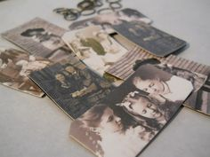 A Little Bit French: A Faux Tintype Tutorial