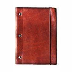 Le Kraft Refillable Leather Notebook (Medium)