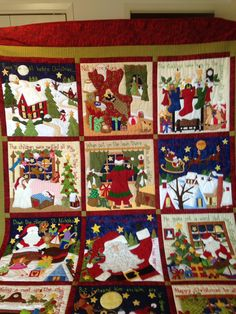 Sue Garman: Happy Holidays! | christmas | Pinterest | Holidays and ... : twas the night before christmas quilt - Adamdwight.com