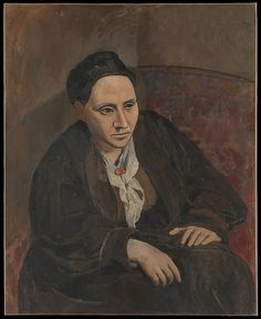 "Pablo Picasso (1881-1973), ""Gertrude Stein"" - The Metropolitan Museum of Art ~ New York, New York, USA"