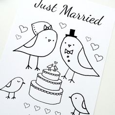 Best 25+ Wedding coloring pages ideas on Pinterest