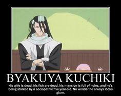 byakuya kuchiki funny - Google Search