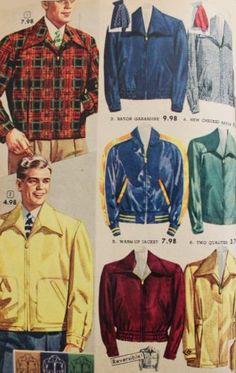 1950s mens jackets