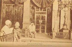1935 An old photo of out side Roza e Rasul Madina