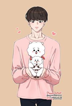 Hoseok es el hijastro de kim taehyung y hermanastro de kim jungkook. Fanart Bts, Jungkook Fanart, Cute Cartoon Wallpapers, Animes Wallpapers, Bts Taehyung, Bts Jimin, Catty Noir, Dibujos Cute, Bts Drawings