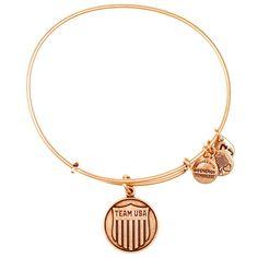 Team USA Women's Shield Charm Bracelet - Gold - $32.00