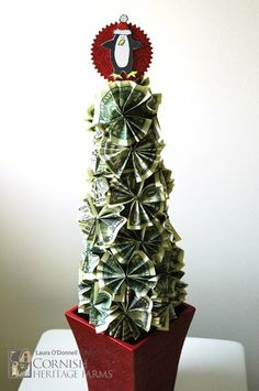 Money tree great gift idea christmas pinterest money trees itsallrosie money tree negle Image collections